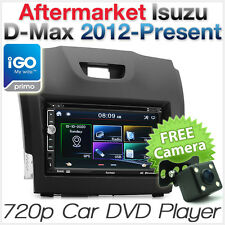 "7"" Car GPS DVD Player Isuzu DMax D-Max USB MP3 Stereo Radio Fascia Facia ISO Kit"