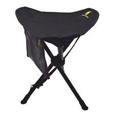 GEERTOP Fishing Camping Hiking Folding Tripod Stool Slacker Chair Mesh Pocket