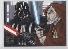 2010 Topps Star Wars Galaxy Series 5 #8 You Can't Win Darth Non-Sports Card 0j6