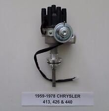 CHRYSLER 413, 426 (HEMI), 440 1959-1978 BLACK Small Female Cap HEI Distributor
