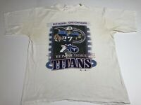 Vintage NFL Eddie George Tennessee Titans NFLP 2000 Champion Size Large