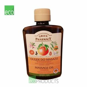 Green Pharmacy Body Massage Oil Warming 200ml