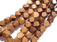 Cube Wooden Jewellery Making Craft Beads