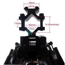 Universal Dual Rail Gun Picatinny Barrel Mount For Tactical Rifle Spring Bipod
