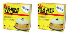 Victor M230 Ultimate Flea Insect Trap Keep Your Pets Flea Free (2 Packs)