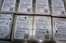 """Job lot of 10 x 160GB, 2.5"""" Laptop SATA, Hard Drive, various makes and models"""