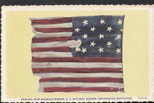 America Postcard - Original Star Spangled Banner, U.S National Museum  RS4296