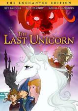 The Last Unicorn (DVD, 2015, The Enchanted Edition)
