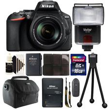 Nikon D5600 24.2MP DSLR Camera w/ 18-140mm VR Lens , Slave Flash & Accessory Kit