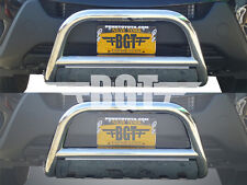"BGT 2006-2015 TOYOTA RAV4 2.5"" FRONT BULL BAR WITH PLATE BUMPER GUARD S/S"