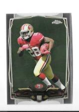 2014 TOPPS CHROME NFL FOOTBALL ROOKIE CARD RC CARLOS HYDE LOT OF 10,49ERS