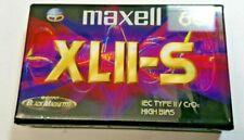 MAXELL XLII-S 60 Chrome Cassettes - Type II x 1
