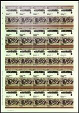 1942 France SNCF Class 141P Chapelon 2-8-2 Imperf/Imperforate Train Stamp Sheet