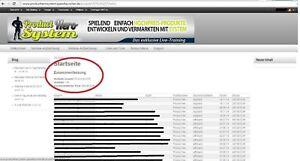 Fertiges funktionstüchtiges Web Projekt mit Einnahmen 65.024,49€ + nachweislich