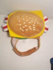 Pet Halloween Top Paw Hamburger Costume size small/ medium Dog Clothes adjustabl