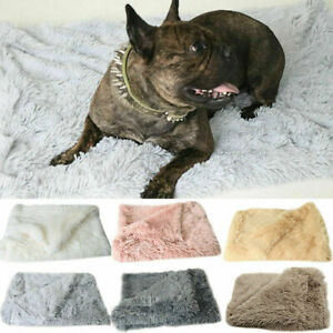 Pet Puppy Blanket Warm Soft Fur Fluffy Mattress Cosy Cat Sleep Dog Bed Washable