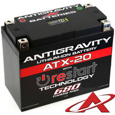 Antigravity RE-START ATX-20 Stock Case 680CCA Lithium Ion Battery + Jump Start