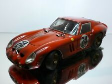 HOT WHEELS FERRARI 250 GTO - RALLY #24 - RED 1:18 - VERY GOOD CONDITION