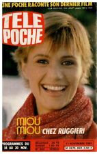 ▬►Télé Poche 822 (1981) MIOU MIOU_GEORGES BRASSENS_DOROTHÉE_CHANTAL GOYA