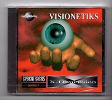 (JM969) Cybertracks Ltd NVRCD 802: Visionetiks, X-Dimension - Sealed CD