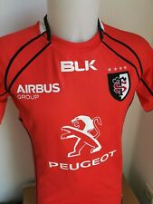 superbe maillot de rugby stade toulousain marque blk  taille M toulouse n°12