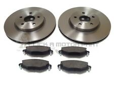 FORD MONDEO MK3 2.2 TDCI ST 155 2004-2007 FRONT 2 BRAKE DISCS AND PADS SET NEW