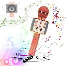 Bluetooth Karaoke Mikrofon Tragbares Handmikrofon Lautsprecher Hause KTV/ Party