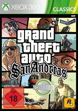 Xbox 360 GTA Grand Theft Auto: San Andreas (Microsoft Xbox 360, 2015, DVD-Box)