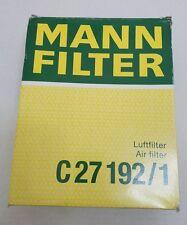 New in Box NIB Mann Air Filter C27192/1 fits 2002-2008 Audi A4 A4 Quattro A4,A4