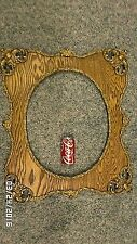 1226M Antique Ornate Turn of Century 16x20 Wood Frame w/Oval View Hoover & Sons
