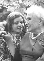 Helen Keller Author w/ Actress Patty Duke-Before Movie The Miracle Worker-Photo