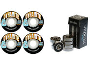 Dynamite Forever 54mm Skateboard Wheels + Modus Bearings