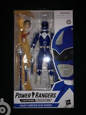 Hasbro Power Rangers Lightning Collection Mighty Morphin Blue Ranger