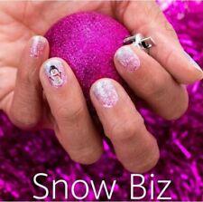 Color Street SNOW BIZ (PETITE White Pink Purple Blue Glitter Snowman Snowflake)