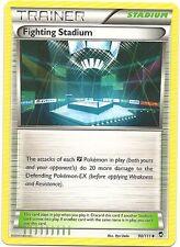 4x FIGHTING STADIUM 90/111 FURIOUS FISTS Pokemon Card HTF Uncommon Trainer MINT