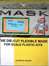 Eduard 1/72 CX420 Canopy Mask for the New Airfix AW Whitley Mk V kit