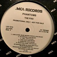 """THE FIXX - Phantoms (Promo L33-1213) - 12"""" Vinyl Record LP - EX"""