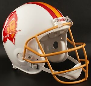 STEVE YOUNG Edition TAMPA BAY BUCCANEERS NFL Riddell AUTHENTIC Football Helmet