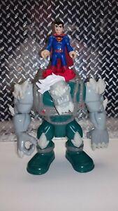 Imaginext DC Super Friends Doomsday & Superman figures