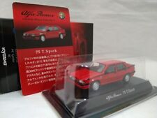 KYOSHO 1/64 Alfa Romeo 75 T.Spark Red Diecast Model Car F/Shipping  F/Japan