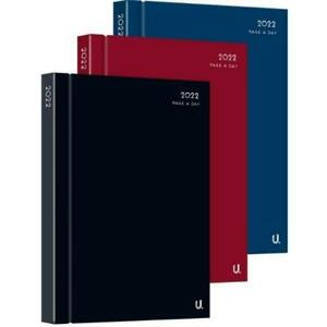 2022 A4 Page a Day Diary Full Year Planner Hardback