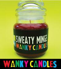 WANKY CANDLES Rude/ Funny/ Offensive/ Humour / Novelty  - Sweaty Minge