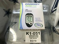NEW Prodigy AutoCode Glucose Meter No Coding required 5 Languages Diabetes❄️K1