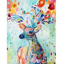 Deer 40*30cm DIY Paint By Number Kit On Canvas Oil Painting Home Wall Decor New