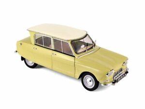 CITROEN Ami 6 - 1964 - Naples yellow - Norev 1:18