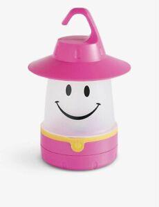 Time Concept Smile Plastic Lantern Raspberry