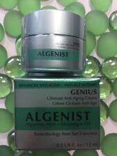 ALGENIST Genius Ultimate Anti-Aging Cream .5oz/15mL BIGGER Travel Sz NEW in Box!