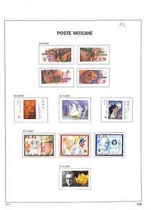 [OP4799] Vatican lot of stamps on 12 pages