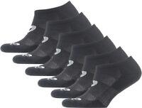 Asics Invisible (6 Pack) Socks - Black