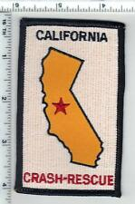 Crash-Rescue (California) Shoulder Patch from the 1980's